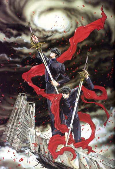 постер аниме Икс (фильм)