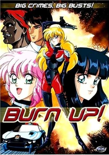 постер аниме Burn Up