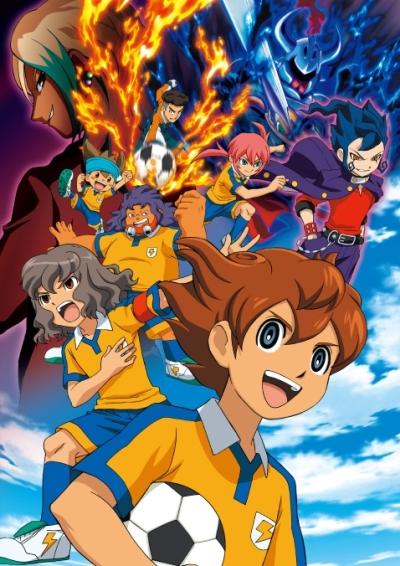 постер аниме Inazuma Eleven Go