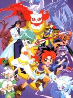 постер аниме Rokumon Tengai Mon Colle Knight