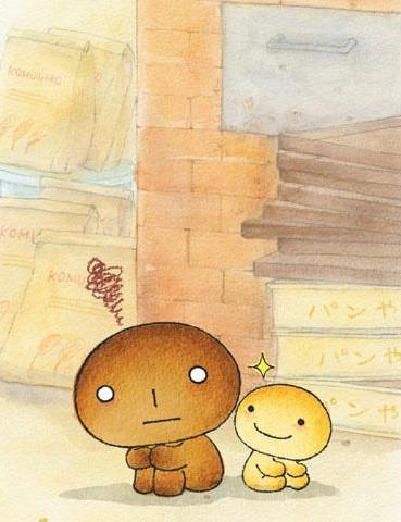 постер аниме Жженый хлебушек