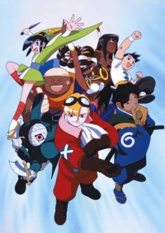 постер аниме Power Stone