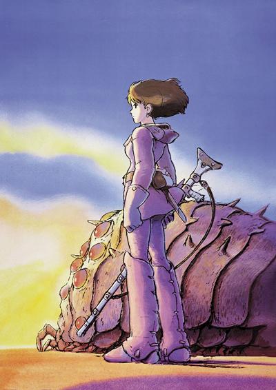 постер аниме Навсикая из Долины ветров