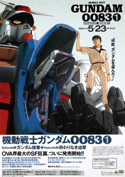 постер аниме Мобильный воин ГАНДАМ 0083: Память о Звездной пыли