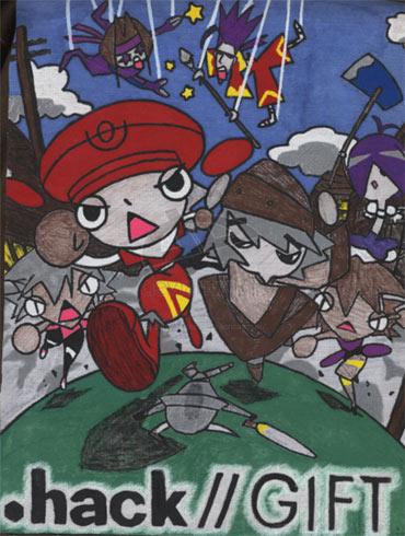 постер аниме .хак//Подарок