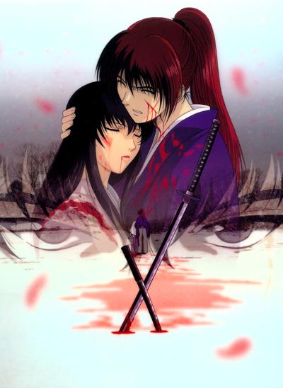 постер аниме Бродяга Кэнсин OVA-1
