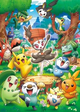 постер аниме Meloetta no Kirakira Recital