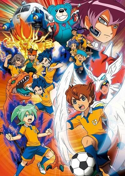 постер аниме Inazuma Eleven Go: Chrono Stone