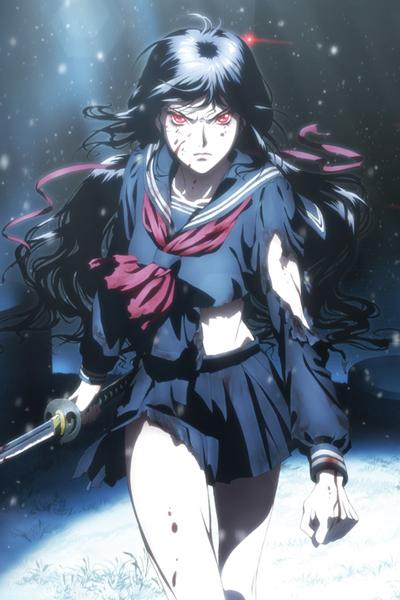 Кровь-С: Последняя Тьма / Gekijouban Blood-C: The Last Dark
