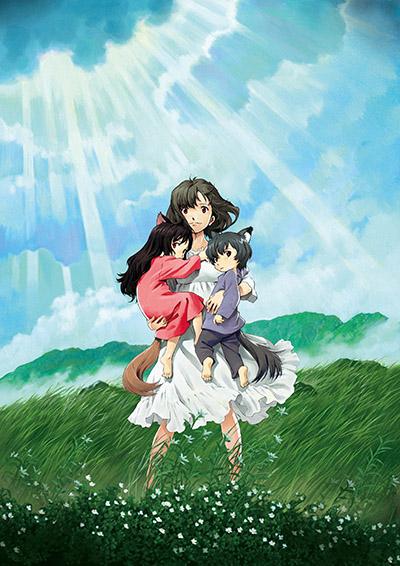 постер аниме Волчьи дети Амэ и Юки