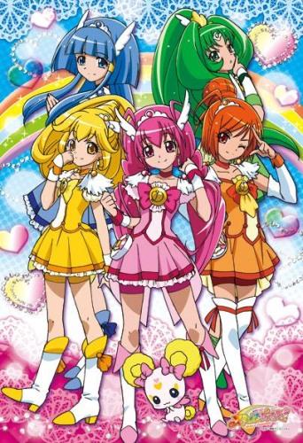 постер аниме Smile Precure!