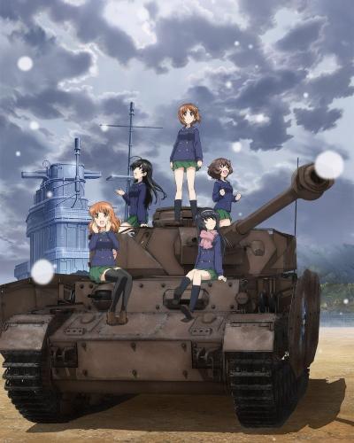 постер аниме Девушки и танки: Финал
