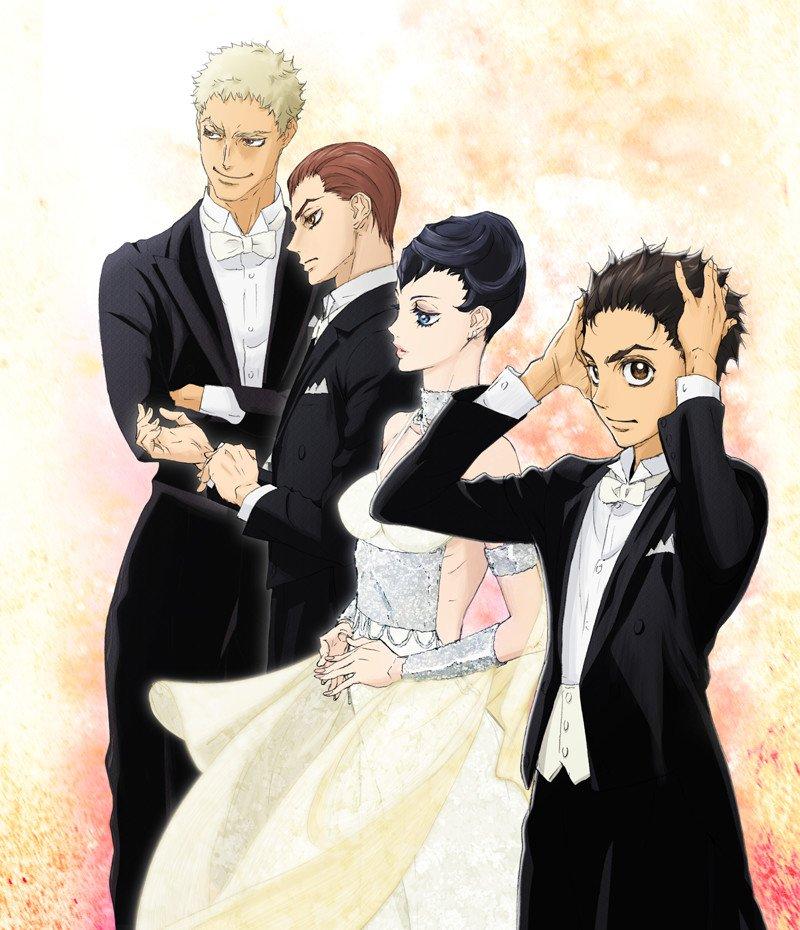 Смотреть аниме Добро пожаловать в бальный зал [24 из 24] онлайн
