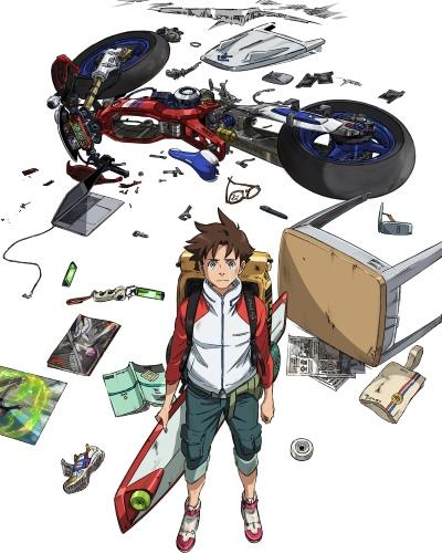 постер аниме Koukyoushihen: Eureka Seven - Hi-Evolution