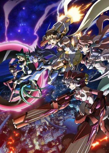 Песня боевых принцесс 4 сезон / Симфогир / Senki Zesshou Symphogear AXZ 4 сезон