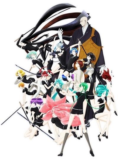 постер аниме Страна самоцветов