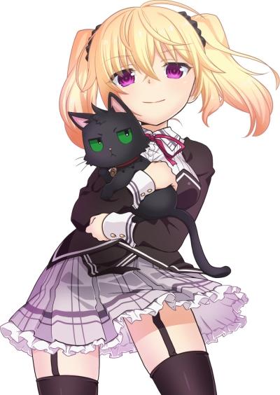 постер аниме Нора, принцесса и бродячая кошка