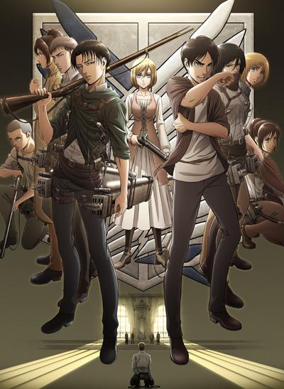 Вторжение гигантов 3 сезон / Атака титанов / Shingeki no Kyojin Season 3 / Attack on Titan 3 сезон