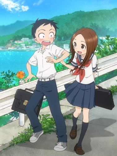 Смотреть Karakai Jouzu no Takagi-san онлайн