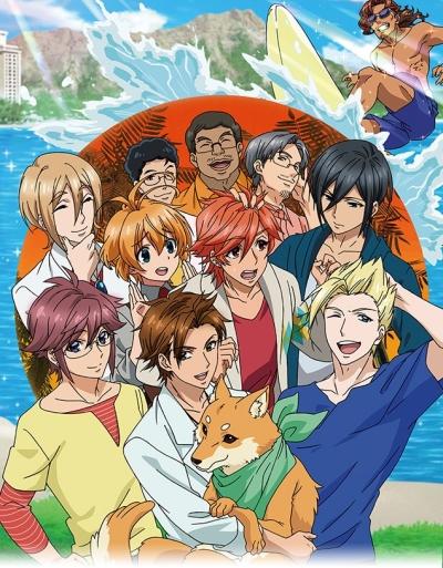 постер аниме Ame-iro Cocoa Series: Ame-con!!