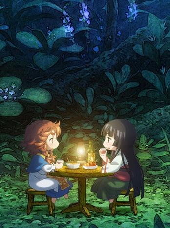 постер аниме Хакумэй и Микоти