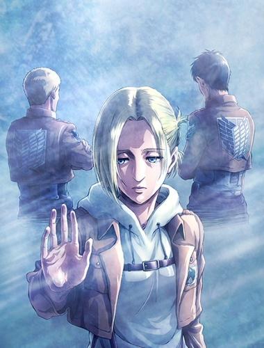 постер аниме Вторжение гигантов OVA-3