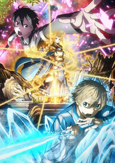 постер аниме Мастера меча онлайн: Алисизация