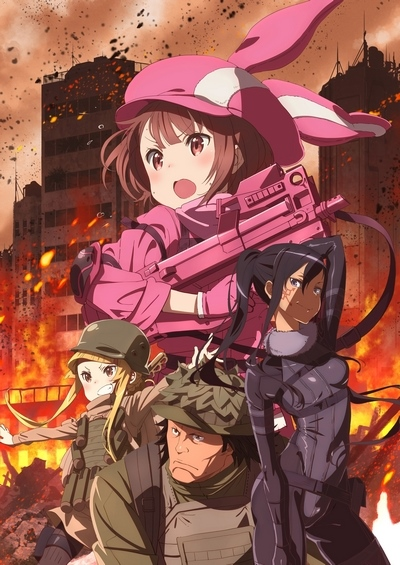 постер аниме Sword Art Online Alternative: Gun Gale Online