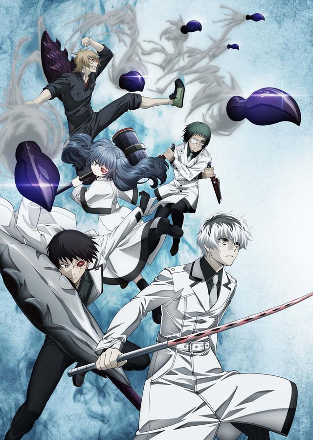 Смотреть аниме Токийский гуль (третий сезон) онлайн