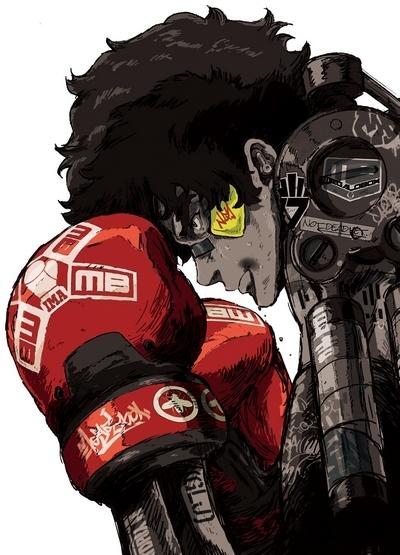 постер аниме Мегалобокс