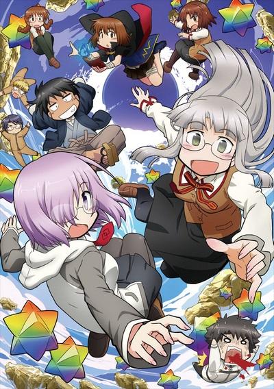 постер аниме Fate/Grand Order x Himuro no Tenchi: 7-nin no Saikyou Ijin Hen