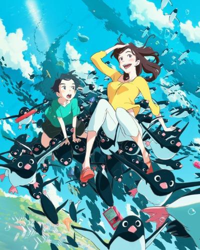 постер аниме Тайная жизнь пингвинов