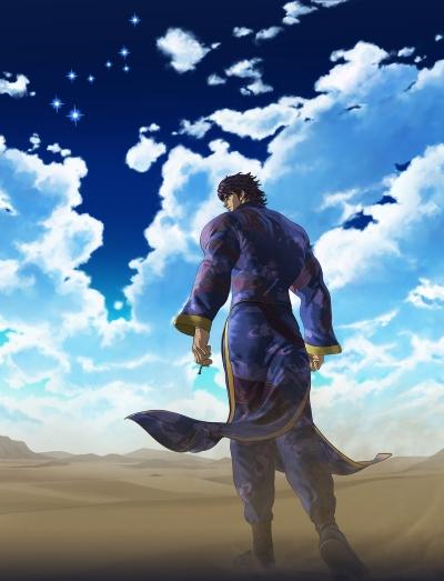 постер аниме Кулак синих небес: Перерождение [ONA-2]