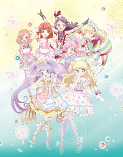 постер аниме Gekijouban PriPara & Kiratto Pri-chan: Kirakira Memorial Live