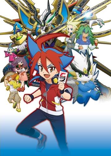 постер аниме Future Card Shin Buddyfight