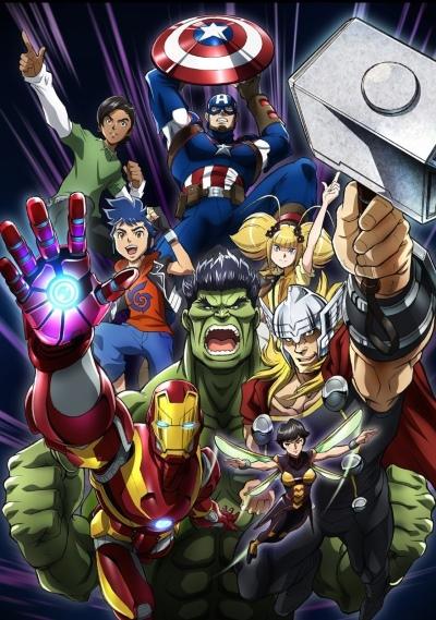 постер аниме Marvel Future Avengers (2018)