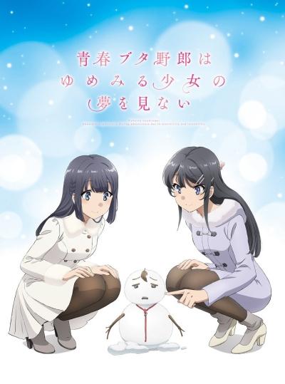 постер аниме Эта глупая свинья не понимает мечту девочки-зайки! (фильм)