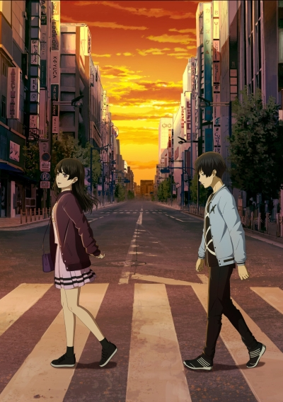 постер аниме Ashita Sekai ga Owaru to Shite mo