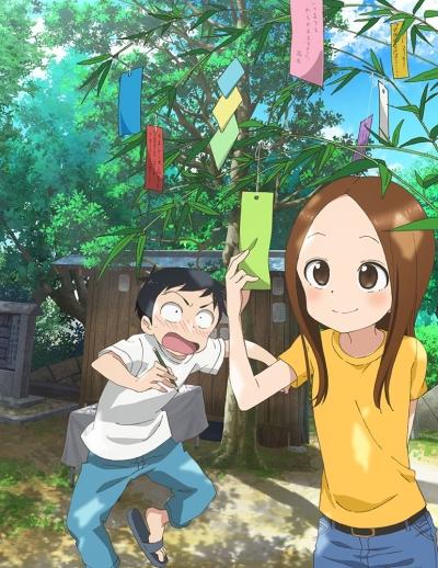 постер аниме Озорная Такаги [ТВ-2]