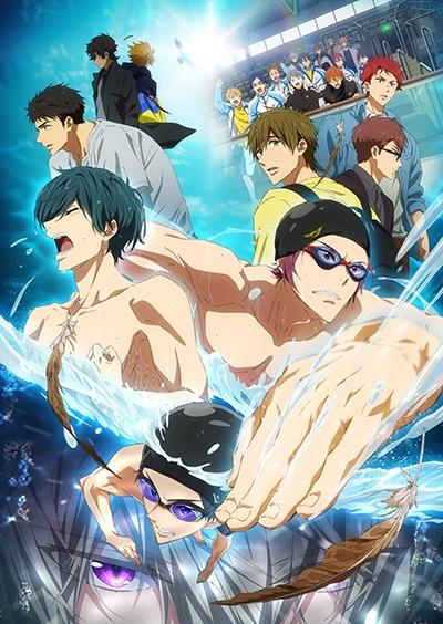 постер аниме Gekijouban Free! The Final Stroke