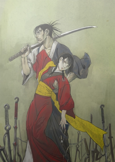 постер аниме Клинок бессмертного (2019)