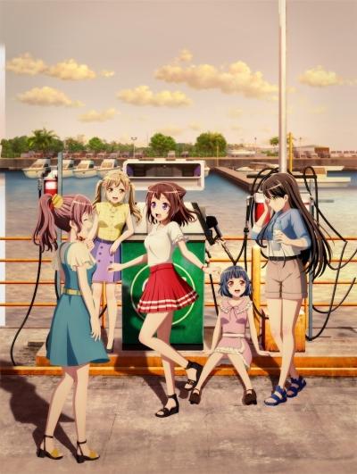 постер аниме Gekijouban Bang Dream! Poppin Dream!