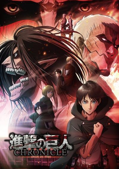 постер аниме Атака титанов (компиляция 3)