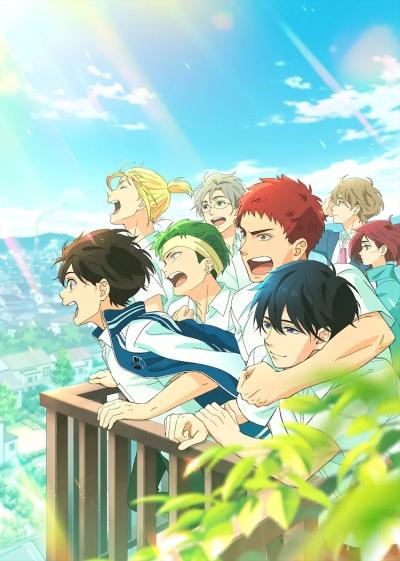 постер аниме Сальто назад! (фильм)