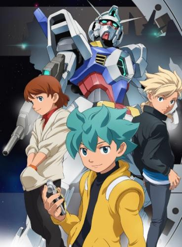 постер аниме Kidou Senshi Gundam Age