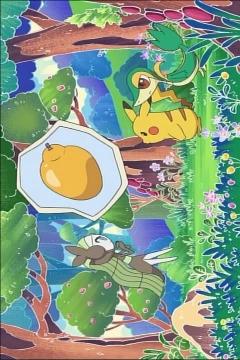 постер аниме Utae Meloetta: Rinka no Mi o Sagase