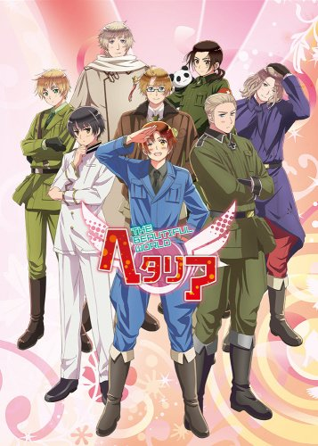 постер аниме Hetalia: The Beautiful World
