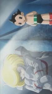 постер аниме Tetsuwan Atom: Chikyuu Saigo no Nichi