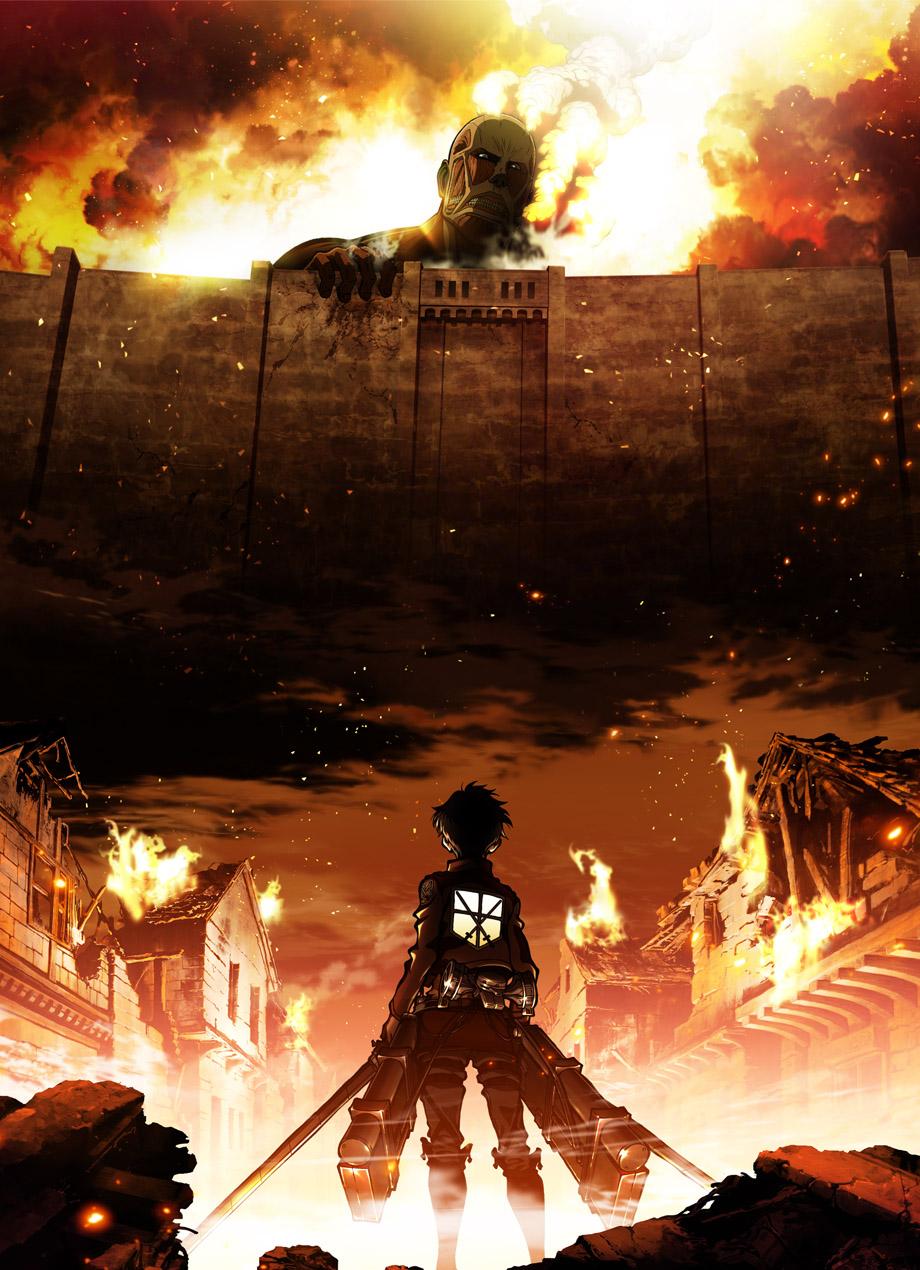 Атака титанов [ТВ-3, часть 1] / Shingeki no Kyojin Season 3 / Вторжение титанов (2018)