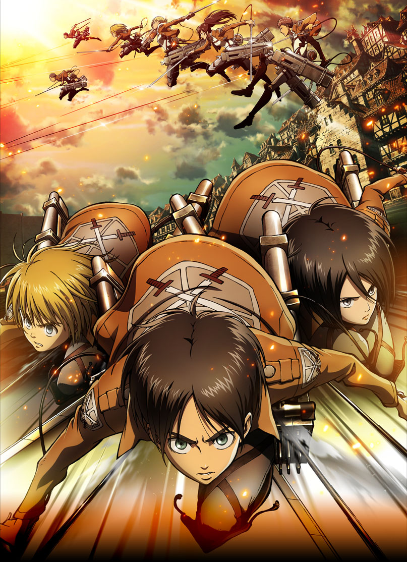 Вторжение гигантов OVA 3 / Атака на титанов OVA 3 / Shingeki no Kyojin OVA 3 / Attack on Titan OVA